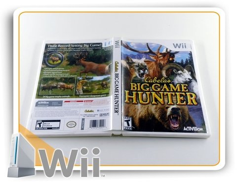 Cabelas Big Game Hunter Original Nintendo Wii - comprar online
