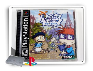Rugrats In Paris The Movie Original Playstation 1 Ps1