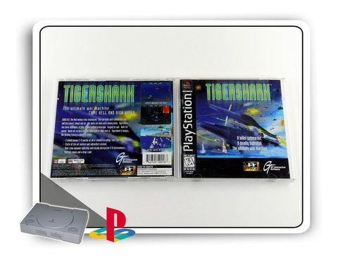 Tigershark Original Playstation 1 Ps1 na internet