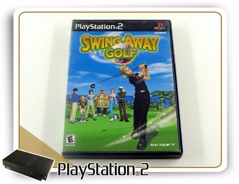 Swing Away Golf Original Playstation 2 PS2