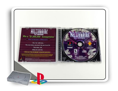 Who Wants To Be A Millionare 2nd Ed. Orig. Playstation 1 Ps1 - comprar online