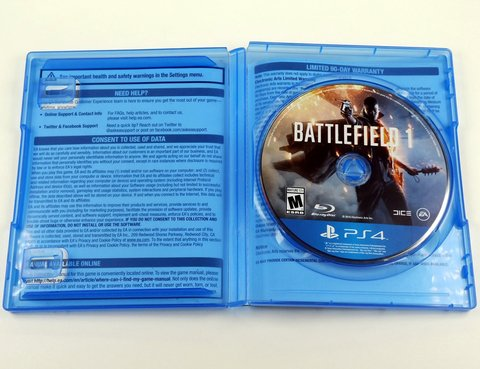 Battlefield 1 Original Ps4 Playstation 4 - Mídia Física - comprar online