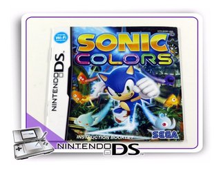 Manual Sonic Colors Ds Original Nintendo Ds
