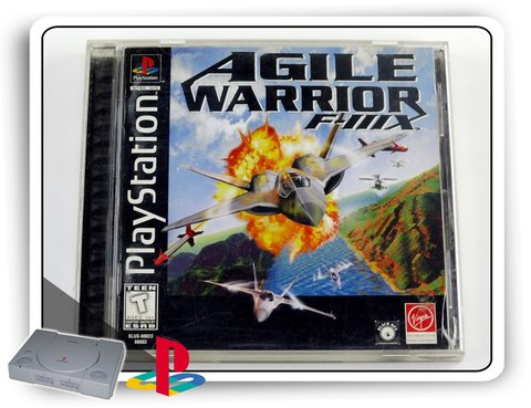 Agile Warrior F-iiix Original Playstation 1 Ps1