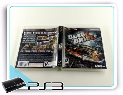 Ps3 Blood Drive Original Playstation 3 - comprar online