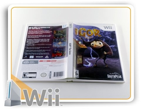 Igor The Game Original Nintendo Wii - comprar online