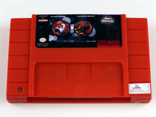 Cartucho 2 Em 1 - Captain Commando E King Of Dragons Snes