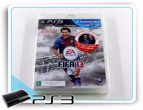 Fifa 13 Original Playstation 3 PS3 Novo Lacrado