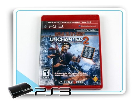 Uncharted 2 Among Thieves Original Playstation 3 Ps3