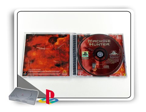 Machine Hunter Original Playstation 1 Ps1 - comprar online