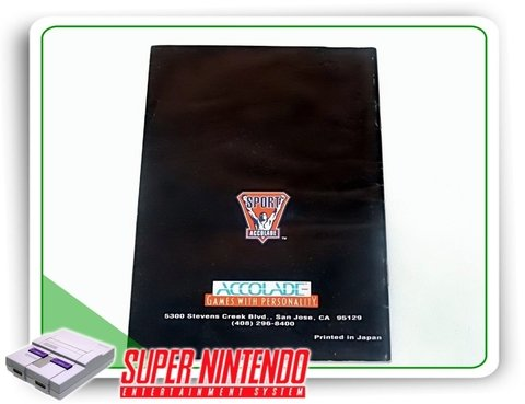 Manual Barkley Shut Up And Jam Original Super Nintendo Snes - comprar online