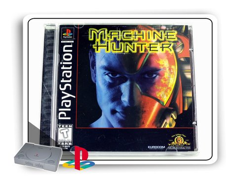 Machine Hunter Original Playstation 1 Ps1