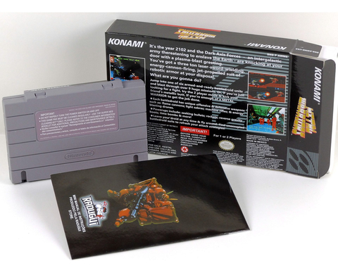 Metal Warriors Super Nintendo Snes, Completo Novo - comprar online