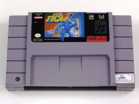 The Tick Super Nintendo Snes, Completo Novo na internet