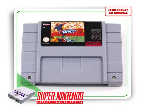 International Superstar Soccer Deluxe Super Nintendo - Novo