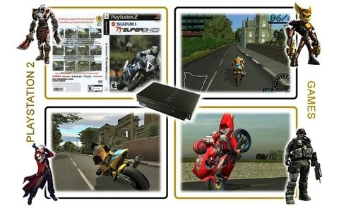 Suzuki Tt Superbikes Playstation 2 PS2 Original - Radugui Store