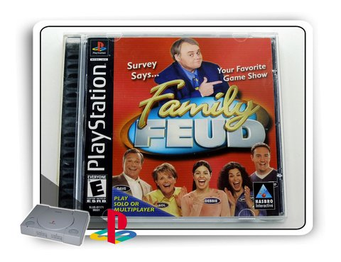 Family Feud Original Playstation 1 Ps1
