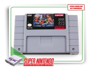 Final Fight 2 Super Nintendo Snes - Novo