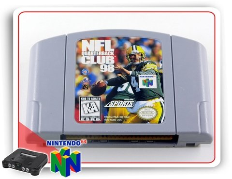Nfl Quarterback Club 98 Original Nintendo 64 N64