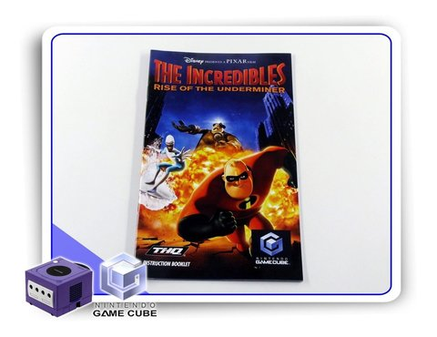 Manual The Incredibles Rise Of The Underminer Orig. Gamecube
