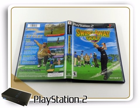 Swing Away Golf Original Playstation 2 PS2 - comprar online