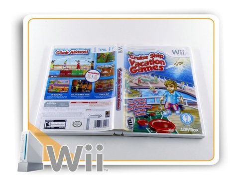 Cruise Ship Vacation Games Original Nintendo Wii - comprar online