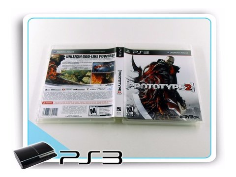 Prototype 2 Com Box Original Playstation 3 PS3 na internet