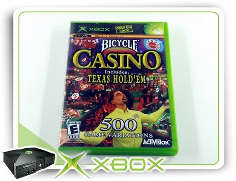 Bicycle Casino Original Xbox Clássico Ntsc