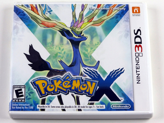 Pokemon X Original Nintendo 3ds