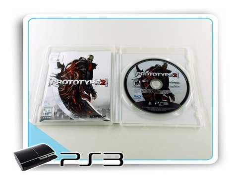 Prototype 2 Com Box Original Playstation 3 PS3 - Radugui Store
