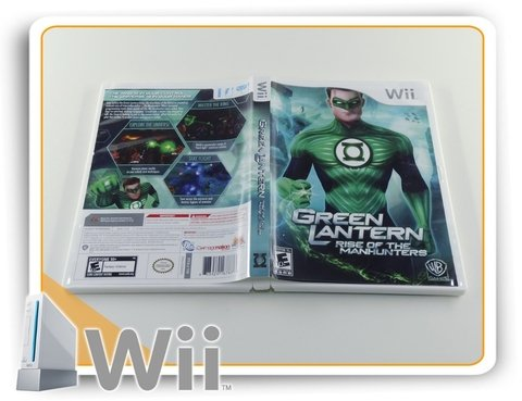 Green Lantern Rise Of The Manhunters Original Nintendo Wii na internet