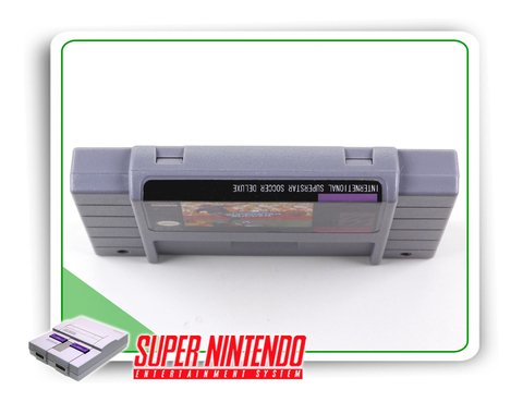 International Superstar Soccer Deluxe Super Nintendo - Novo - comprar online