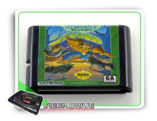 Beauty And The Beast Sega Mega Drive / Genesis - Novo