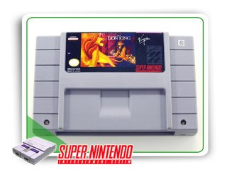 The Lion King Super Nintendo Snes Original