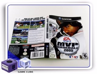 Encarte Mvp Baseball 2005 Original Gamecube