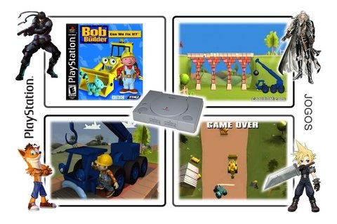 Bob The Builder Can We Fix It Original Playstation 1 Ps1 - loja online
