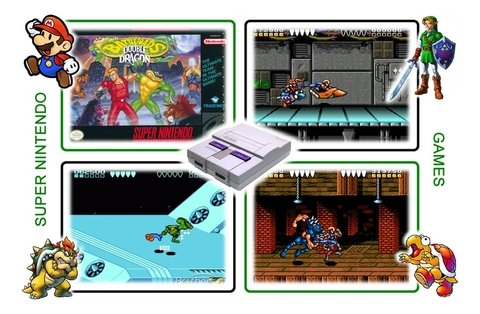 Imagem do Battletoads & Double Dragon Super Nintendo Snes - Novo
