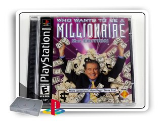 Who Wants To Be A Millionare 2nd Ed. Orig. Playstation 1 Ps1