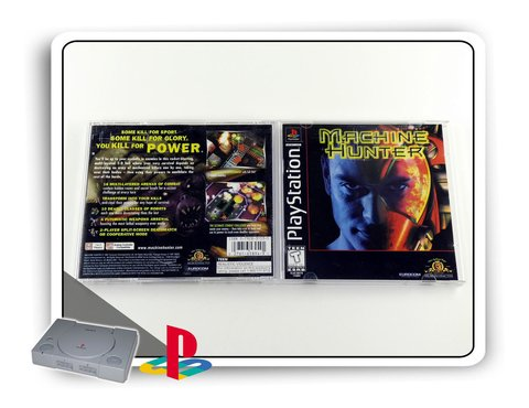 Machine Hunter Original Playstation 1 Ps1 na internet