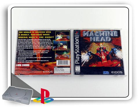 Machine Head Original Playstation 1 Ps1 na internet