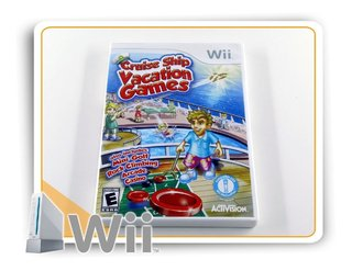 Cruise Ship Vacation Games Original Nintendo Wii