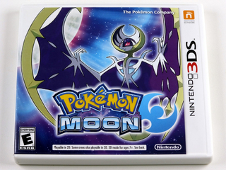 Pokemon Moon Original Nintendo 3ds