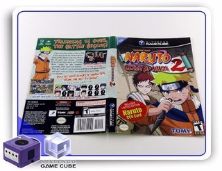 Encarte Naruto Clash Of Ninja 2 Original Gamecube
