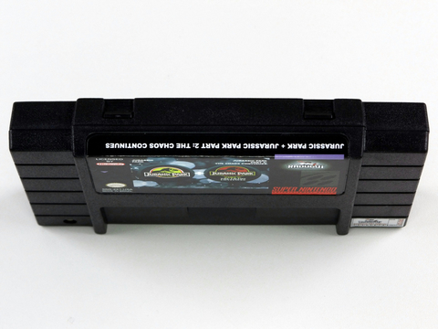 Jurassic Park Collection - 1 E 2 Super Nintendo Snes - comprar online