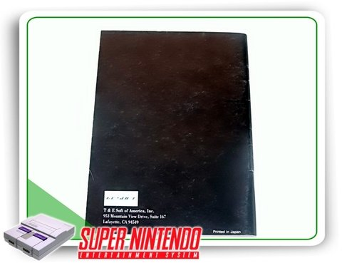 Manual True Golf Waialae Country Club Snes Super Nintendo - comprar online