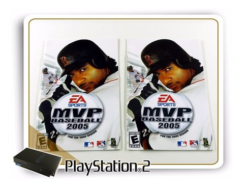Manual Mvp Baseball 2005 Original Playstation 2 PS2 - comprar online