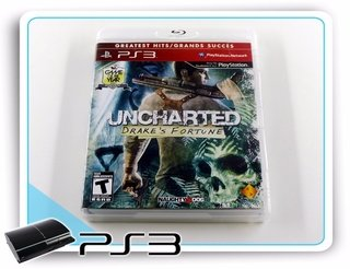 Uncharted Drakes Fortune Original Playstation 3 PS3