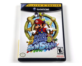 Super Mario Sunshine Original Nintendo Gamecube