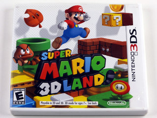 Super Mario 3d Land Original Nintendo 3ds