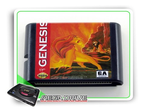 The Lion King Sega Mega Drive / Genesis - Novo